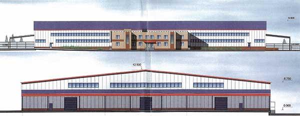 Складской комплекс в д.Одинцово