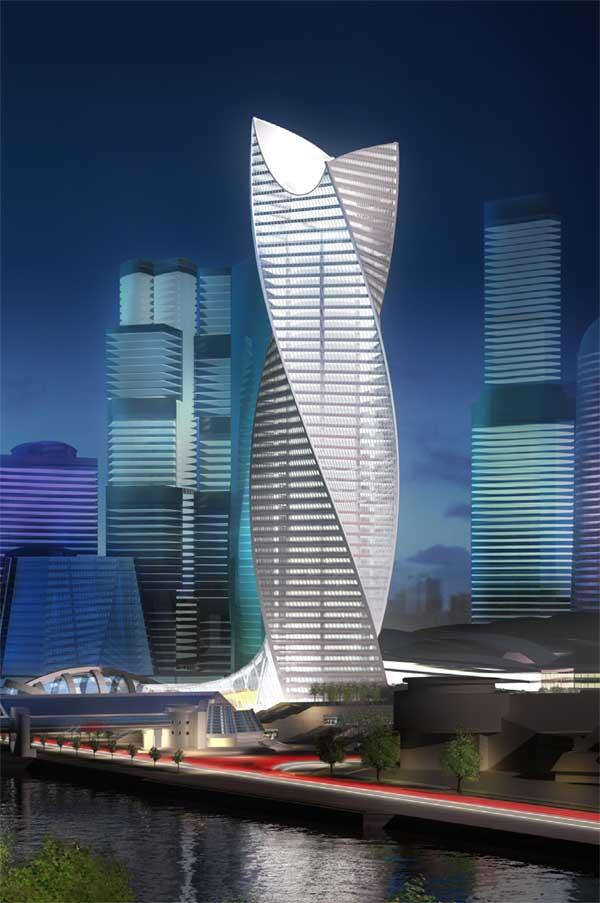 Башня Эволюция - Москва-Сити
