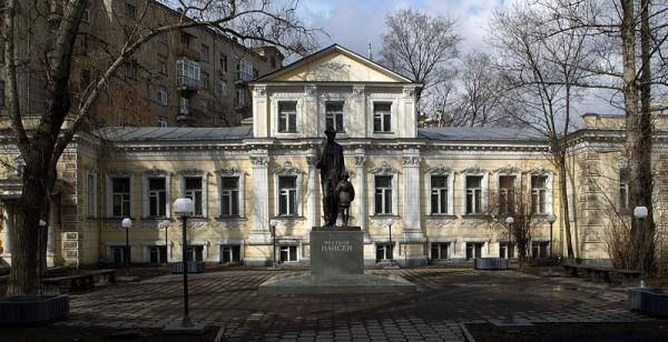 Фасад особняка Б.Левшинский пер., д.6/2, стр.1