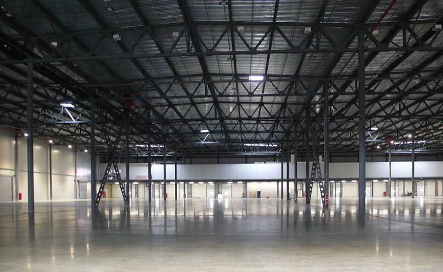 Интерьер промышленного здания